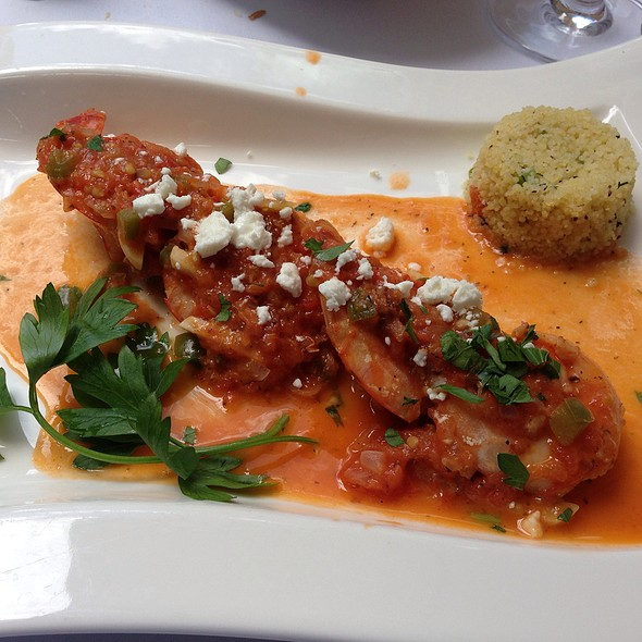 Shrimp Saganaki With Feta And Spicy Sauce - Milos - 55th Street NY, New York, NY
