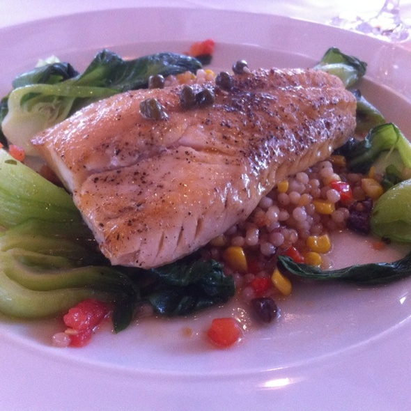 Pan-seared Pickerel - Benchmark, Niagara-on-the-Lake, ON