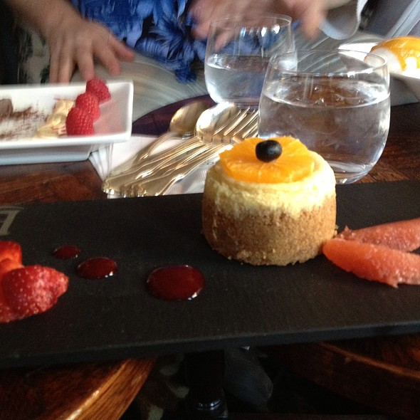 Lemon Cheesecake - Left Bank Restaurant, Vail, CO