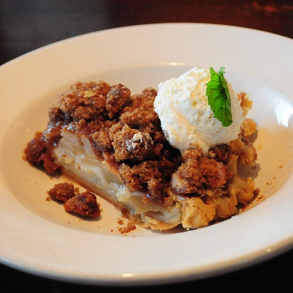 Sour Cream Apple Pie - Michael Forbes Bar & Grille, Kansas City, MO