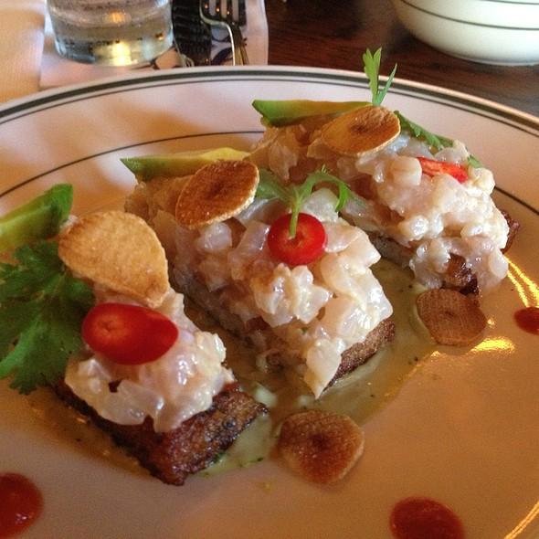 Seabass Tartar - Cafe Habana, Malibu, CA