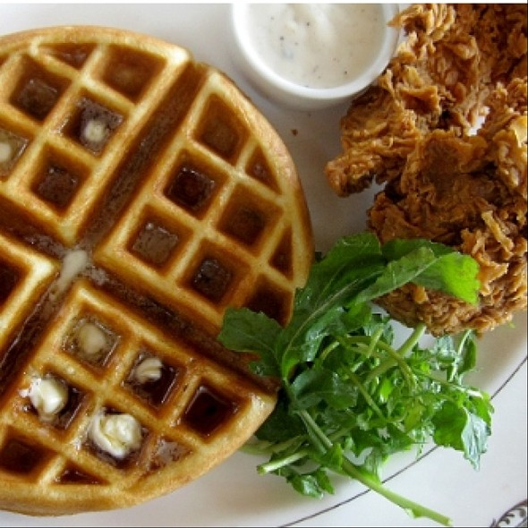 Fried Chicken and Waffles - The Tasting Kitchen, Venice, CA