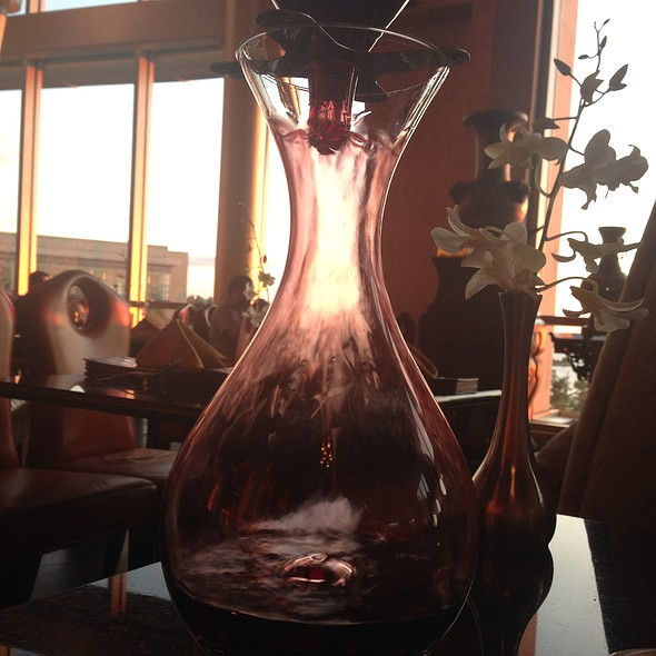 Decantered Red Wine - Grace's Mandarin, National Harbor, MD