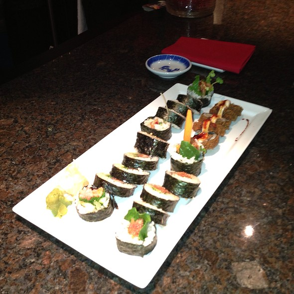 Sushi Assortment - Rare Steak and Sushi, Minneapolis, MN