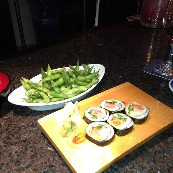 Edamame And Mexican Roll - Rare Steak and Sushi, Minneapolis, MN