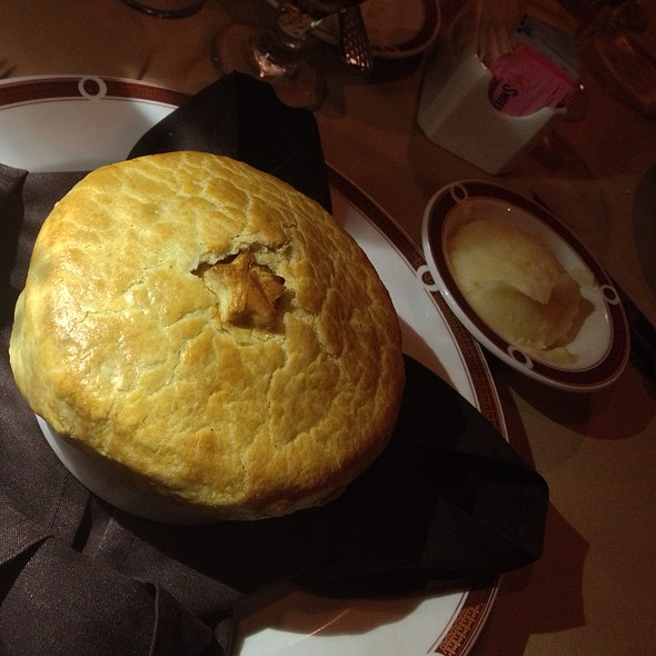 Chicken Pot Pie - Primarily Prime Rib - South Point Casino, Las Vegas, NV