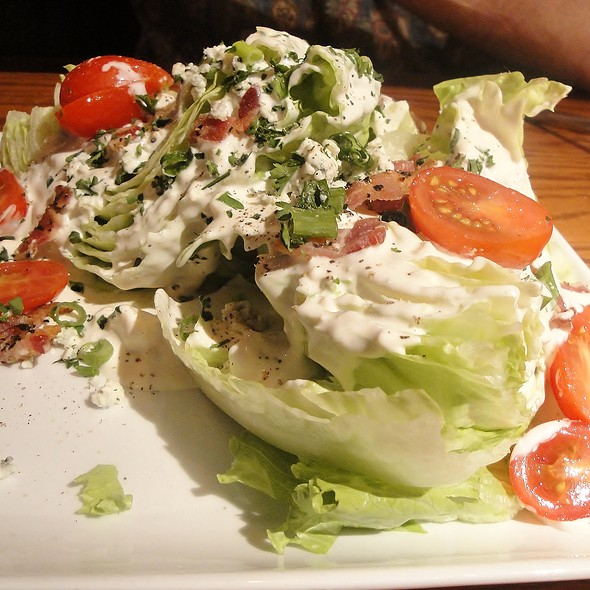 Blue Cheese Wedge Salad - Glacier BrewHouse, Anchorage, AK