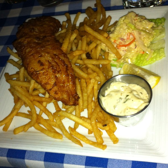 Fish and Chips - Merchants River House, New York, NY