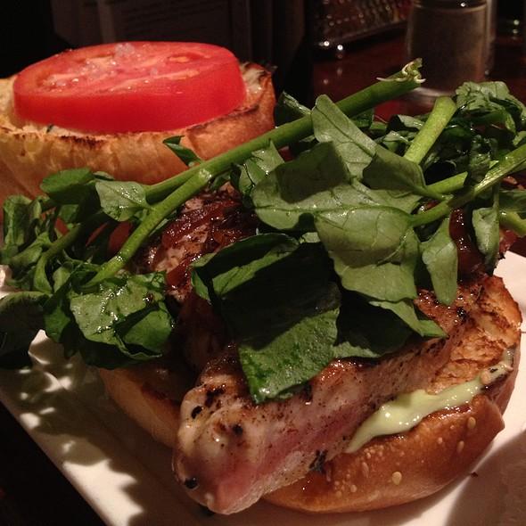 Ahi Tuna Burger - Thunder Burger & Bar, Washington, DC
