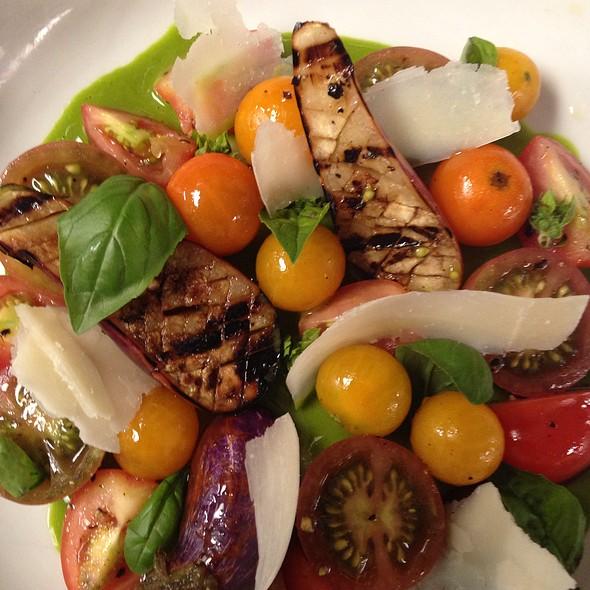 Herloom Tomato Salad - Page at 63 Main, Sag Harbor, NY