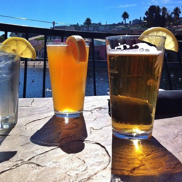 Blue Moon Beer - Paradise Beach Grille, Capitola, CA