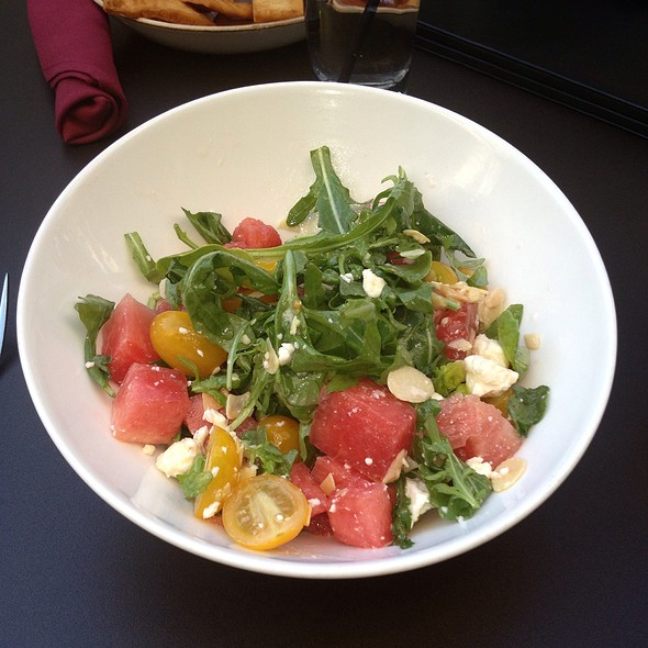 Watermelon and Tomato Salad - American Tap Room - Clarendon, Arlington, VA