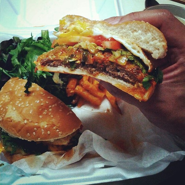 K Town Burger - The Tea Bar, Fort Lee, NJ