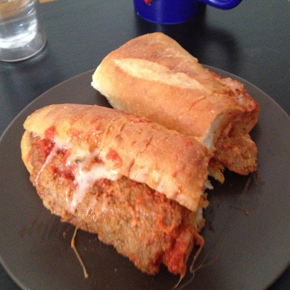 Veal Parmigiana Sandwich - Buon Appetito - New Jersey e4ebcdae5