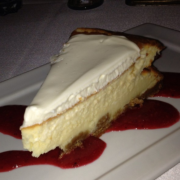 Goat Cheese Cheesecake - Elizabeth on 37th, Savannah, GA
