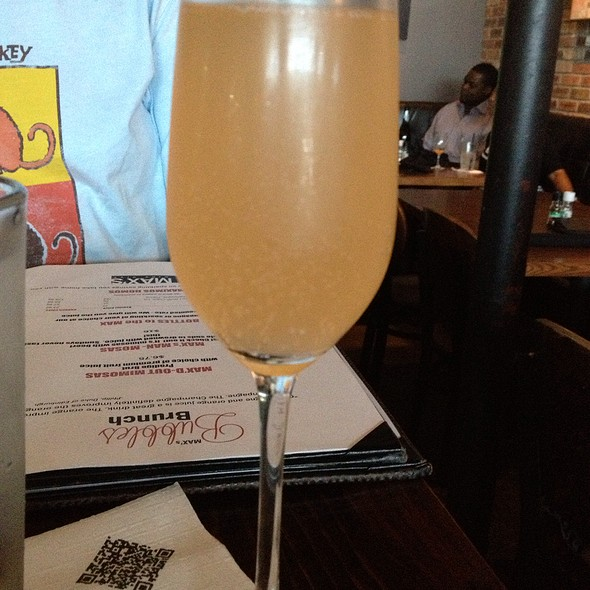 Grapefruit Mimosa - MAX's Wine Dive Houston - Washington Ave., Houston, TX
