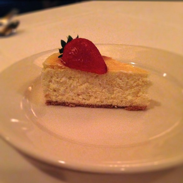 Cheesecake - Morton's The Steakhouse - New Orleans, New Orleans, LA