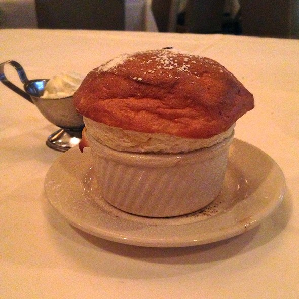grand marnier souffle - Morton's The Steakhouse - New Orleans, New Orleans, LA