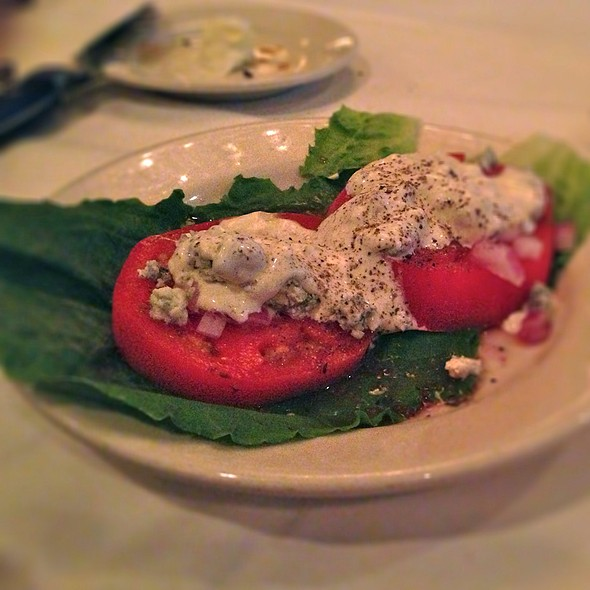 Sliced Beefsteak Tomatoes - Morton's The Steakhouse - New Orleans, New Orleans, LA