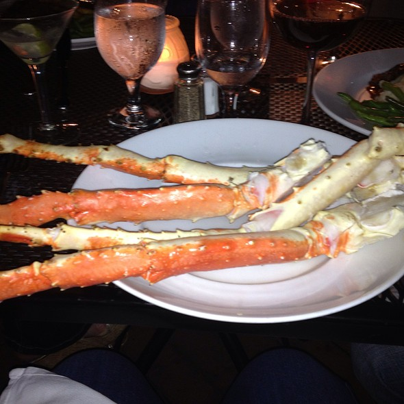 Alaskan King Crab Legs - Bistro 44, Northport, NY