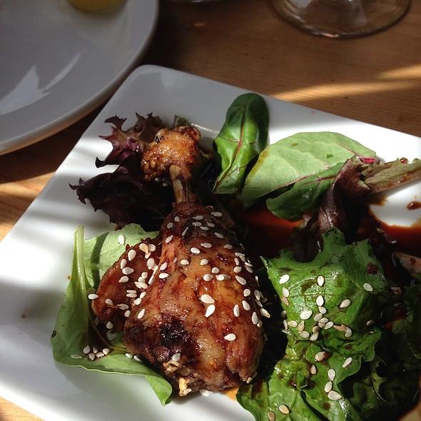 Drumsticks Sans Sauce - Uli's Restaurant, White Rock, BC