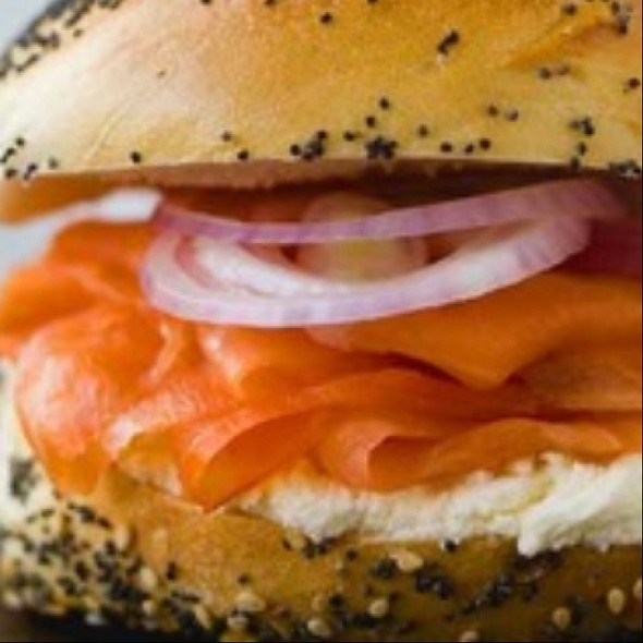 Lox On Bagel - Freds - Beverly Hills -At Barneys New York, Beverly Hills, CA