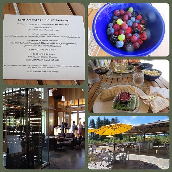 Gourmet Picnic Pairing - Lynmar Estate, Sebastopol, CA