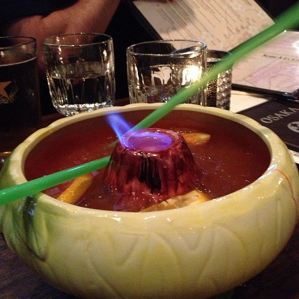 Scorpion Bowl - Osaka Japanese Sushi and Steakhouse, Brookline, MA