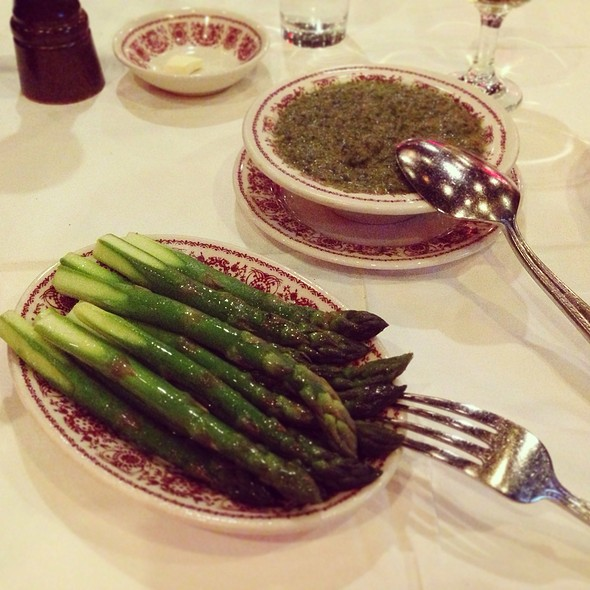 Asparagus - Sparks Steak House, New York, NY