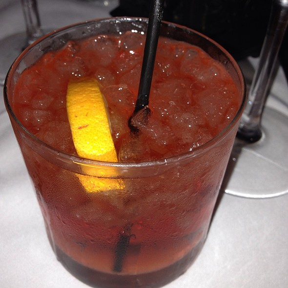 Negroni Cocktail - The Italian Barrel, New Orleans, LA