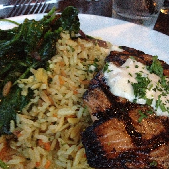 Chargrilled Salmon - Stanford Grill - Columbia, Columbia, MD