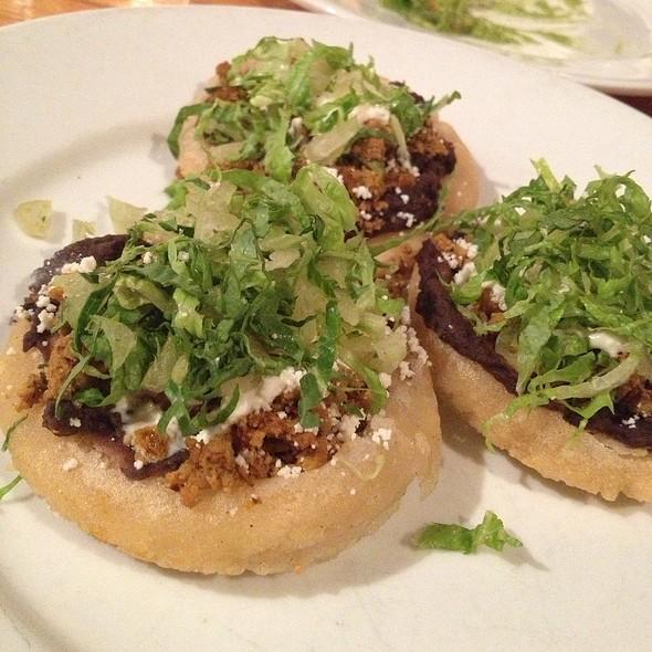Chorizo Arepa - Hecho en Dumbo Chef's Table Menu Prix Fixe, New York, NY