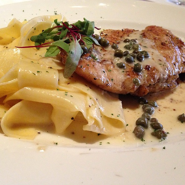 Chicken Picatta - Del Frisco's Double Eagle Steak House - Houston, Houston, TX