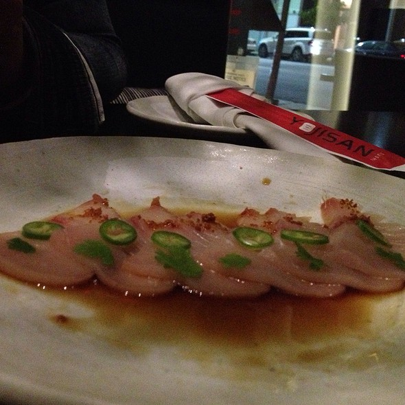 Yellowtail - Yojisan, Beverly Hills, CA