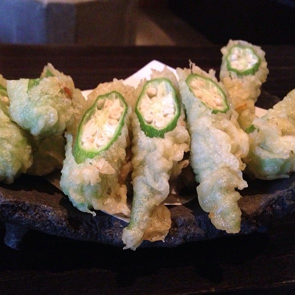 Okra Tempura - TEI-AN, Dallas, TX