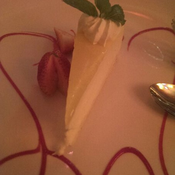 Key Lime Cheesecake - Brasa Grill, Cleveland, OH