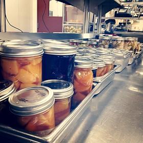 Pickled Vegetables - Flame Restaurant, Vail, CO