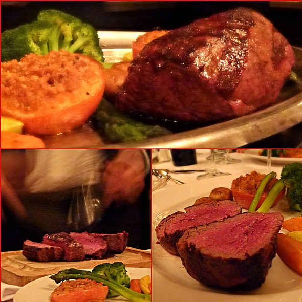 Chateaubriand - Hy's Steak House - Waikiki, Honolulu, HI