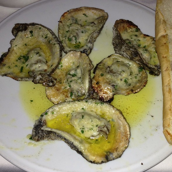 Charbroiled Oysters - Purple Parrot Seafood and Steaks, Hattiesburg, MS