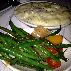 Green Beans And Mashed Potatoes - The Capital Grille - Plano, Plano, TX