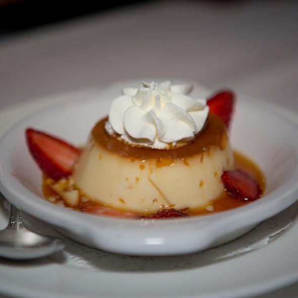 Creme Caramel - Cafe Provence, Prairie Village, KS