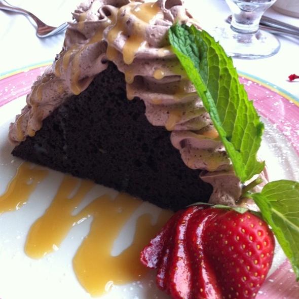 Godiva Chocolate Cake - Columbia Restaurant - SandKey, Clearwater, FL