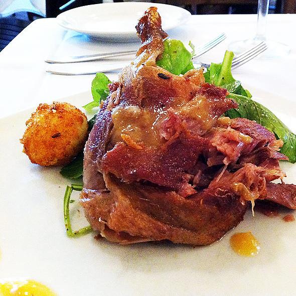 Crispy Duck Confit Salad - Restaurant Patois, New Orleans, LA