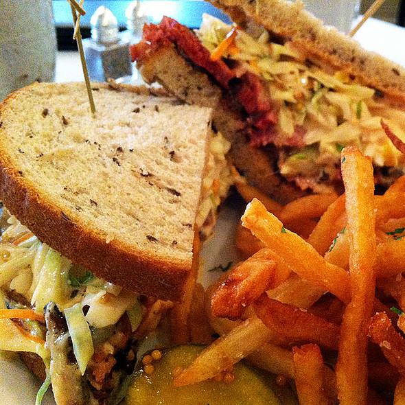 Veal Pastrami Sandwich - Restaurant Patois, New Orleans, LA