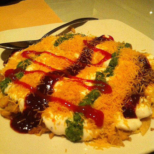 Aloo Papdi Chaat - Shalimar Restaurant, Ann Arbor, MI