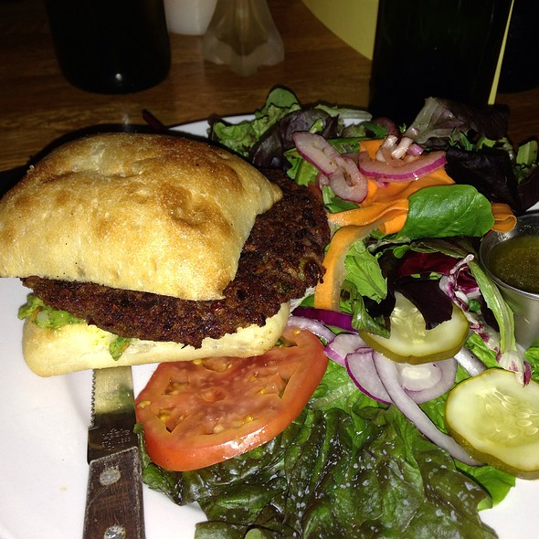 Peggy's Homemade Vegan Patty - Rumor Mill, Friday Harbor, WA