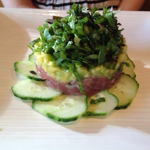 Tuna Tartare - David Todd's City Tavern, Morristown, NJ