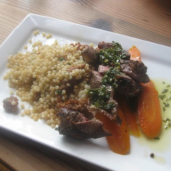 Grilled Lamb Sirloin - Lapellah Restaurant, Vancouver, WA