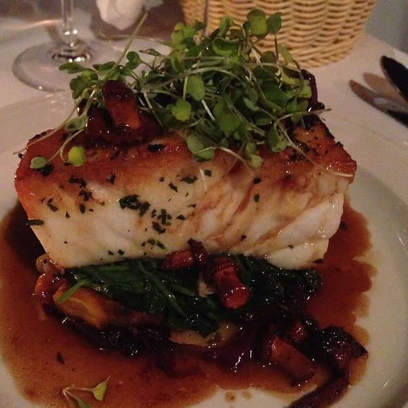 Seared Chilean Sea Bass - Keen's Steakhouse, New York, NY