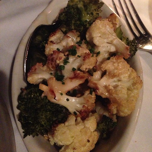 Roasted Broccoli And Cauliflower - Keen's Steakhouse, New York, NY
